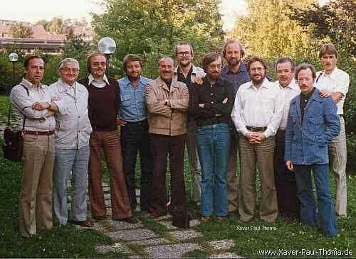 Bratschngruppe des Bayreuther Festspielorchesters 1978