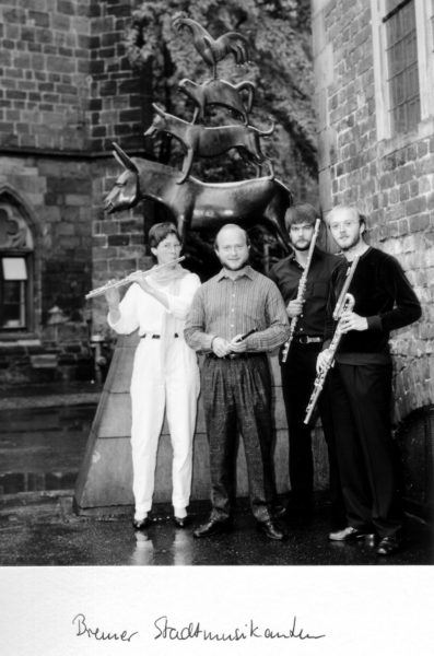 Ensemble Cantique Edelgard Seemann – Flöte Sabine Bleier – Flöte Jörg Böse – Flöte Michael Müller- Flöte
