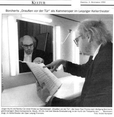 Beckmann - Jürgen Kurth - Bariton