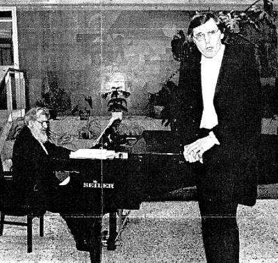 Rainer Pachner - Bariton Ramon Walter - Klavier