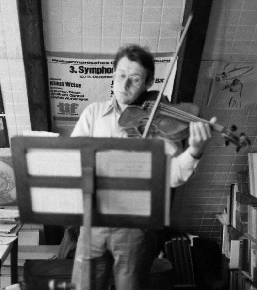 Xaver Paul Thoma in Lüchow 1981