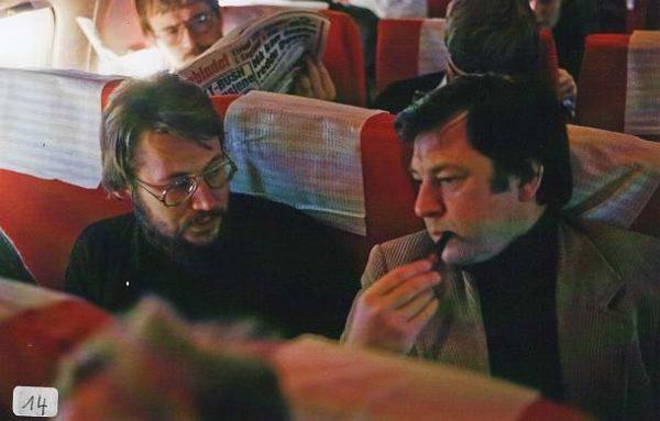 Xaver Paul Thoma und Jörg-Wolfgang Jahn in Norwegen 1978