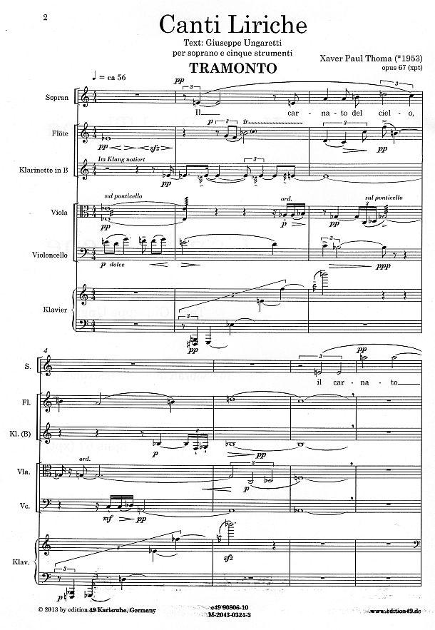 xpt067 canti sopran instrumente