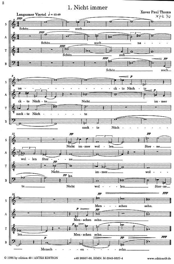 xpt070 traum chor a capella