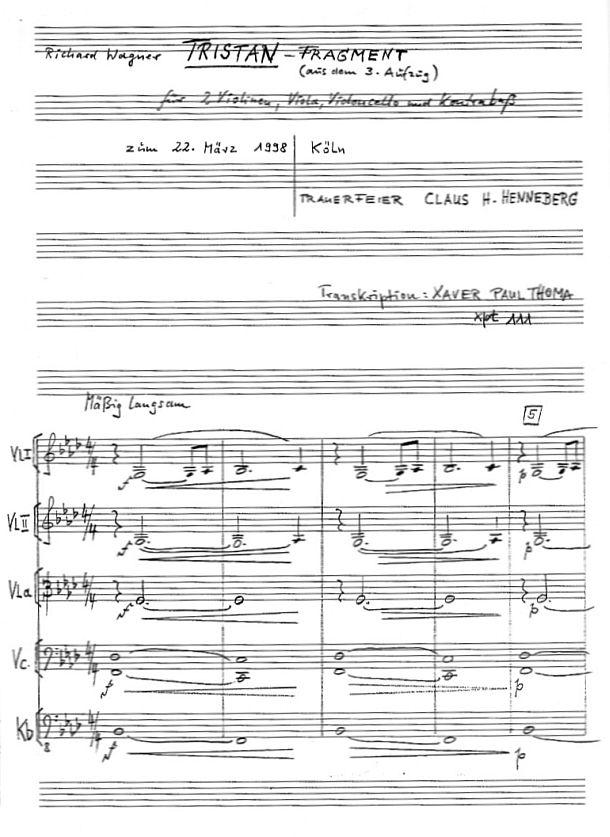 xpt111 tristan 2violinen viola cello kontrabass