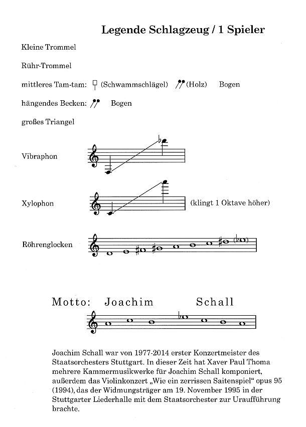 Legende: xpt 189 - Duett Concertino für Violine und Schlagzeug